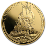 Monnaie de Paris (Great French Ships Gold Coin Series)